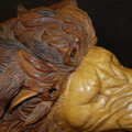 MGM Massive Hand Carved Rocking Horse Lion  Life Size