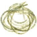 8mm x 10mm New Jade Beads 16 inch Long Strand 1