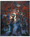 Apache Crown Dancer Canvas Print 16611