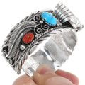 Sterling Silver Turquoise Watch Cuff 24429