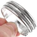 Navajo Twist Wire Cuff Bracelet 11368