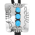 Native American Turquoise Bolo Tie 23402