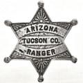 Arizona Tucson County Ranger Badge 29006
