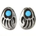 Bear Paw Post Earrings 28595