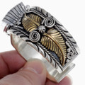 Traditional Native Silver Gold Watch 24489