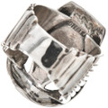 Sterling Silver Southwest Mens Rings 29768