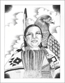 Eagle Spirit Native American Print 17210