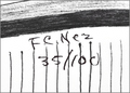 Hand Signed Navajo Frankie Nez Art Print 17210