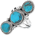 Navajo Turquoise Ring 27878