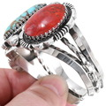 Navajo Sterling Silver Cuff Bracelet 14327