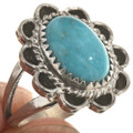Native American Pretty Turquoise Ring 28618