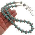 Old Pawn Coin Turquoise Necklace 27742