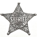 Lincoln County Sheriff Badge 29011