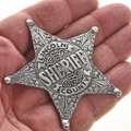 Old West Style Silver Badge 29011