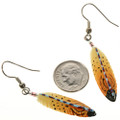 French Hook Feather Earrings 14430