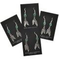 Native American Gemstone Earrings 29402