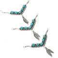 Native American Turquoise Y Necklaces 29254