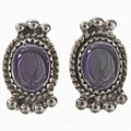 Amethyst Sterling Earrings 28865