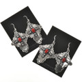 Sterling Gemstone French Hook Earrings 28849