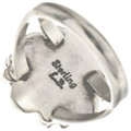 Native American Silver Ladies Ring 28596