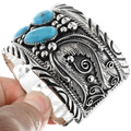 Navajo Mens Sterling Cuff Bracelet 29818