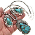Native American Turquoise Necklace 29883