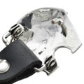 Hand Hammered Silver Belt Buckle 29906