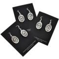 Overlaid Silver Earrings  29938