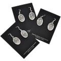 Native American Silver Earrings 29939