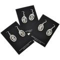 Overlaid Silver Earrings 29940
