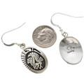 Silver French Hook Earrings 29943