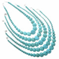 Western Turquoise Bead Necklace 30033