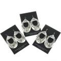 French Hook Sterling Silver Earrings 30050