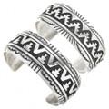 Navajo Made Sterling Silver Cuff Bracelets 30080