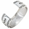 Tommy Rose Singer Navajo Silver Jewelry 30080