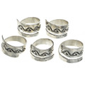 Sterling Silver Adjustable Sizes 8 to 13 30105