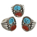 Navajo Sterling Silver Ring Any Size 30124