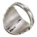 Handmade Sterling Silver Mens Ring 30133
