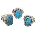 Kingman Blue Turquoise Ring 30134
