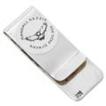 Navajo Handcrafted Silver Bill Clip 30170