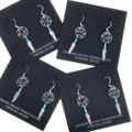 Silver Western Dreamcatcher Earrings 30173