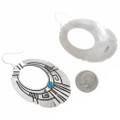 Hand Made Navajo Sterling Silver Earrings 30209