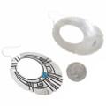 Hand Made Navajo Sterling Silver Earrings 30209