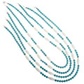 Turquoise Navajo Necklace 30229