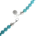 Turquoise Bones Beads Sterling Accents 30229