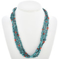 Turquoise Nugget Bead Necklace 30271