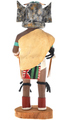 Great Horned Owl Hand Made Hopi Kachina 30286
