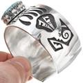 Overlaid Silver Cuff Bracelet 30306
