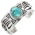 Carico Lake Turquoise Silver Bracelet 30306