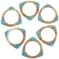 Southwest Bangle Modern Triangular Bracelet 30343
